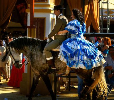 horse fair of jerez andalucia