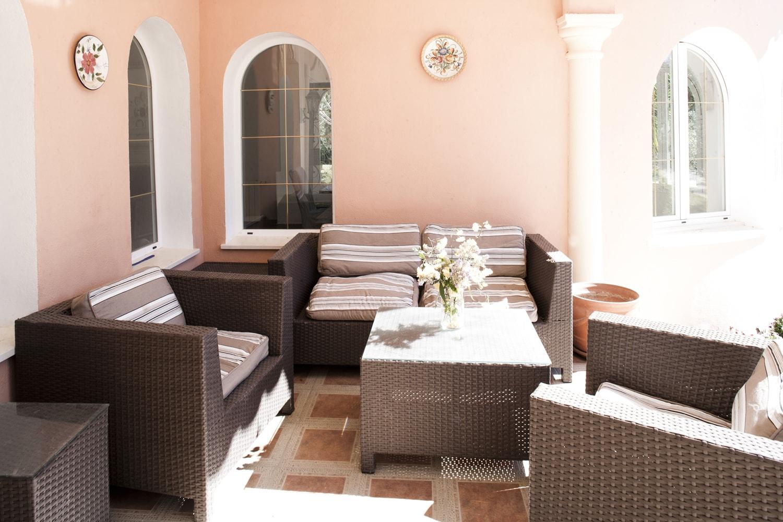 porch villa andalucia