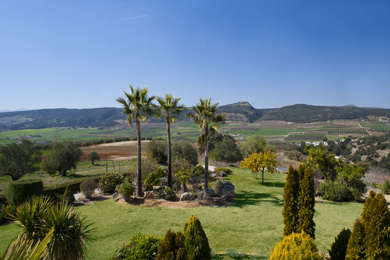 view from luxury villa spain