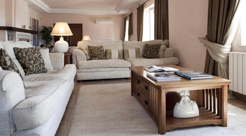 sitting room luxury villa andalucia