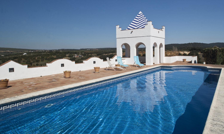 luxury swimming pool ronda andalucia