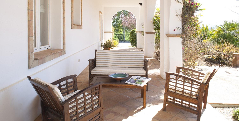 terrace villa spain