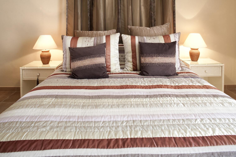 luxury holiday villa bedroom
