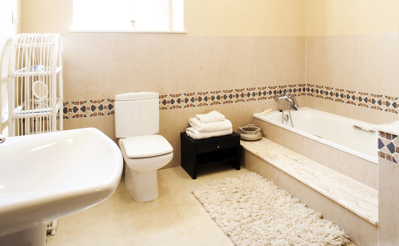 luxury holiday bathroom