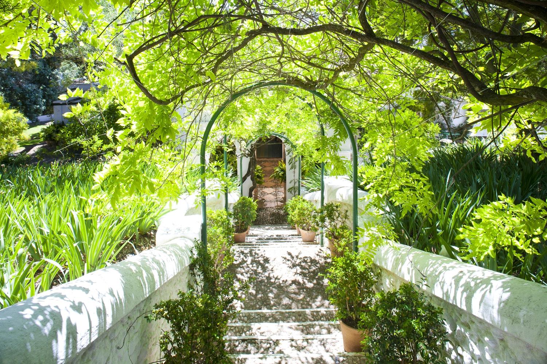 villa entrance ronda andalucia