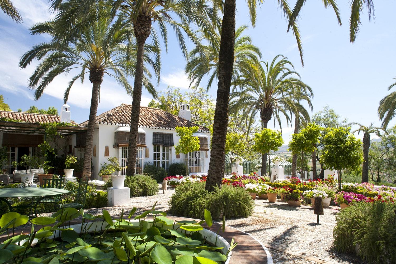 house and garden ronda andalucia