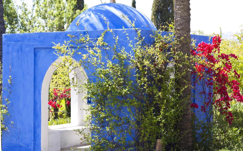 house and garden spain