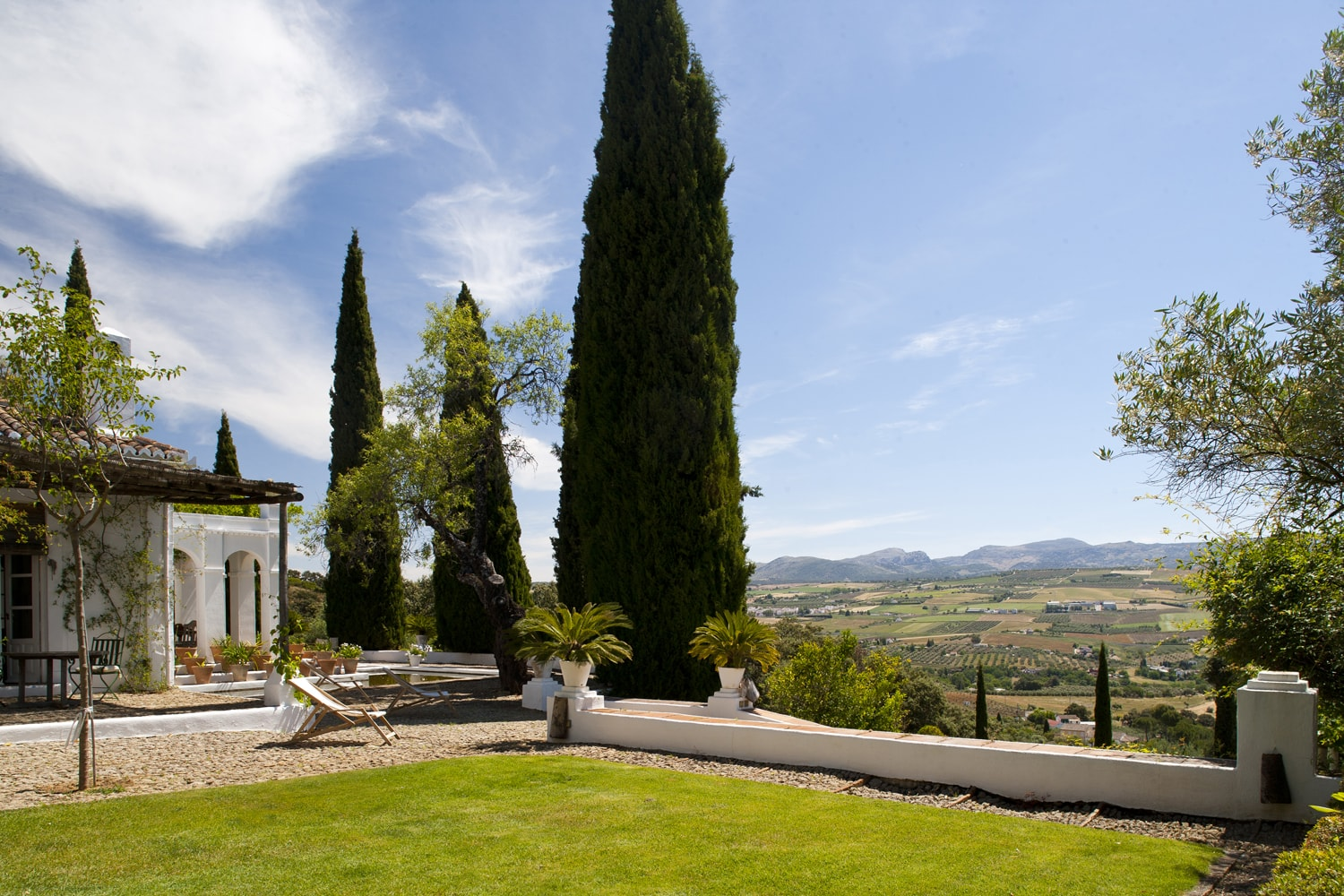 garden and view spain