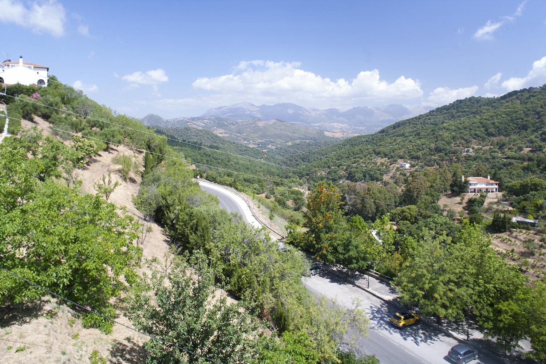 holiday villa views spain