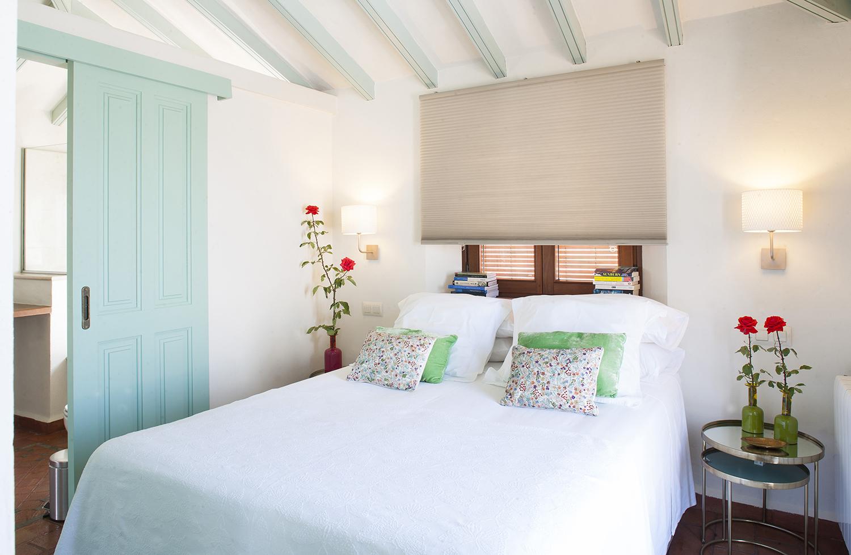 apartment bedroom gaucin spain