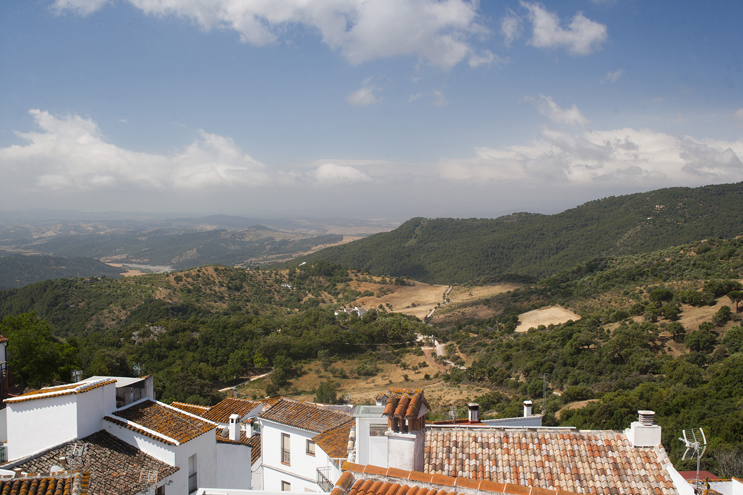 view gaucin spain