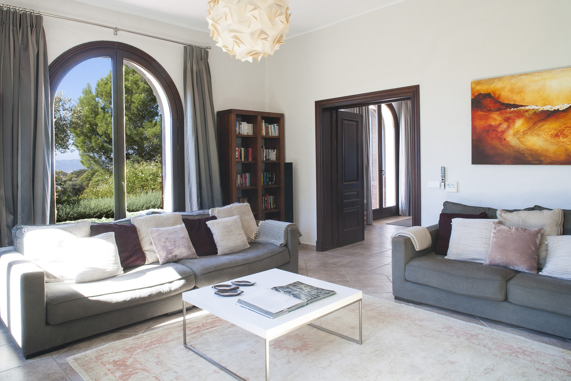 sitting room holiday luxury villa