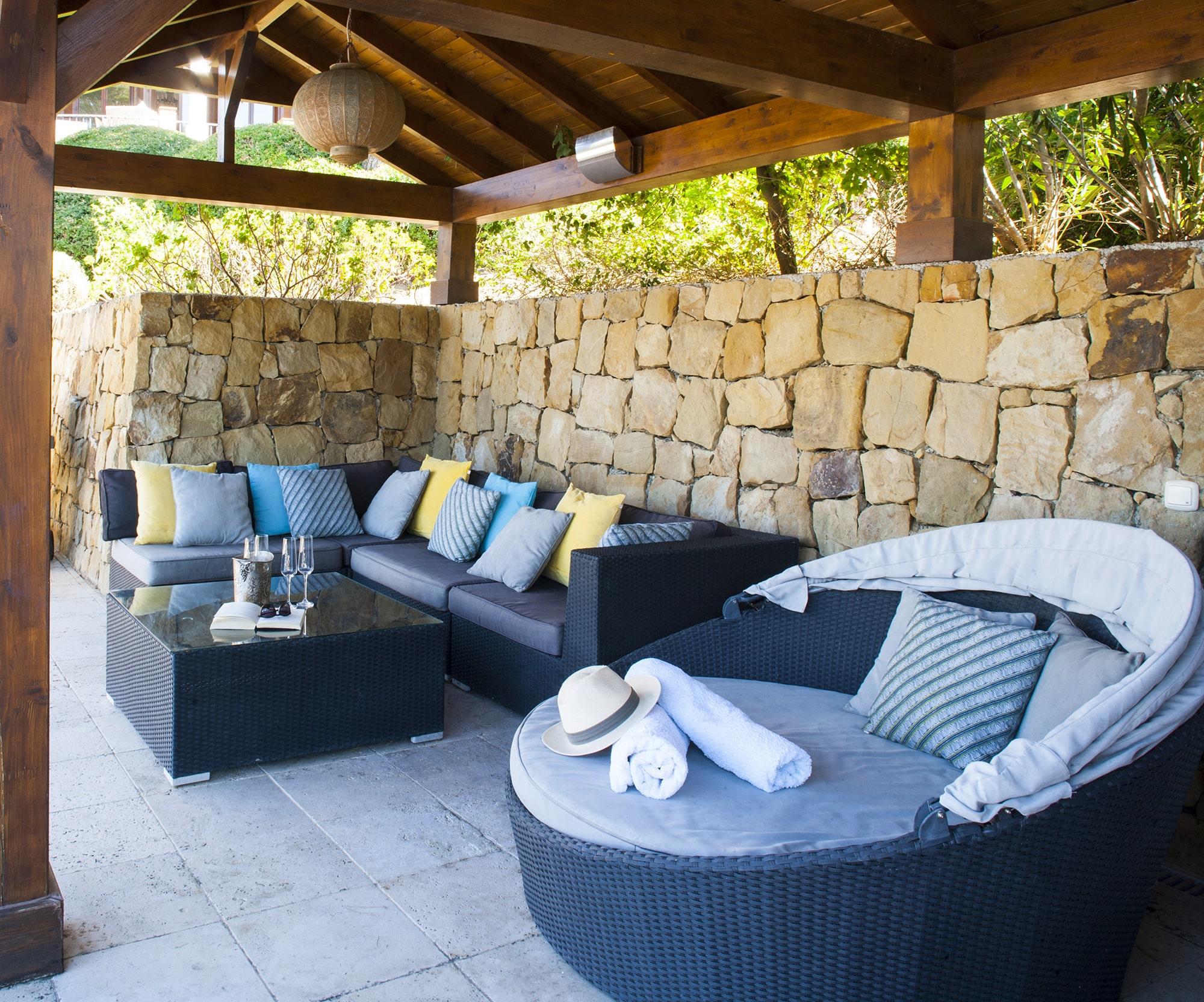 pool house luxury villa spain