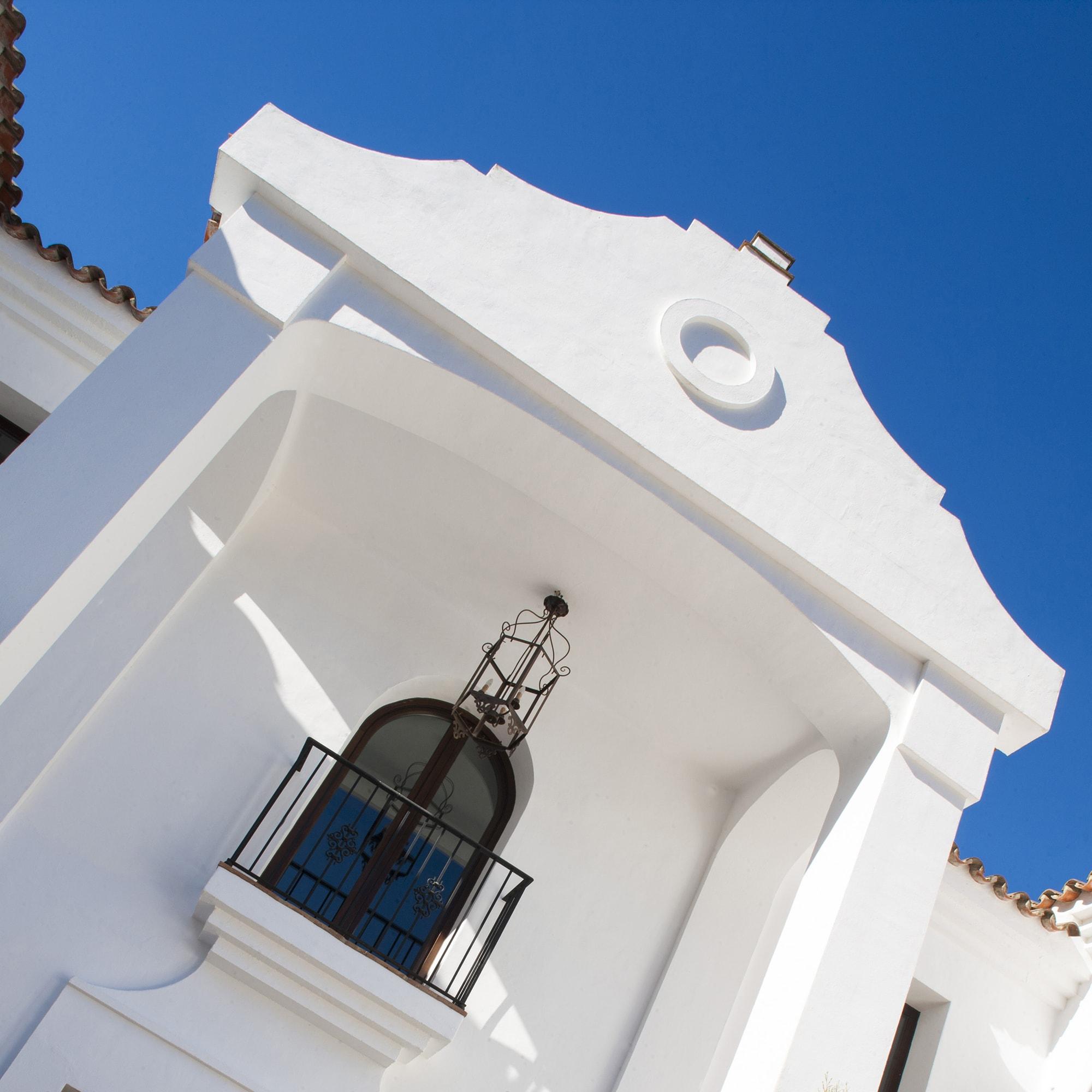 facade holiday villa gaucin