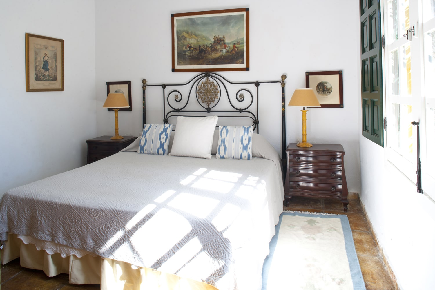 bedroom in hoiday villa