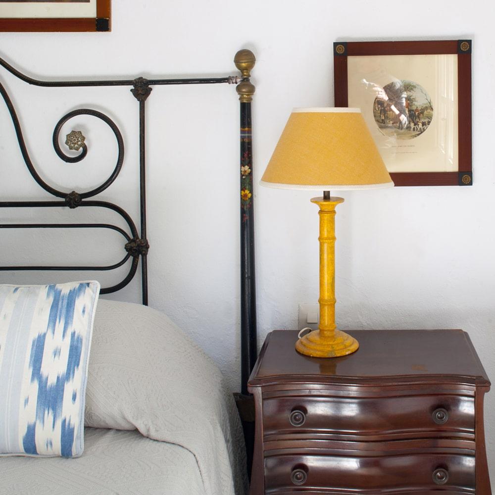 bedroom in holiday villa