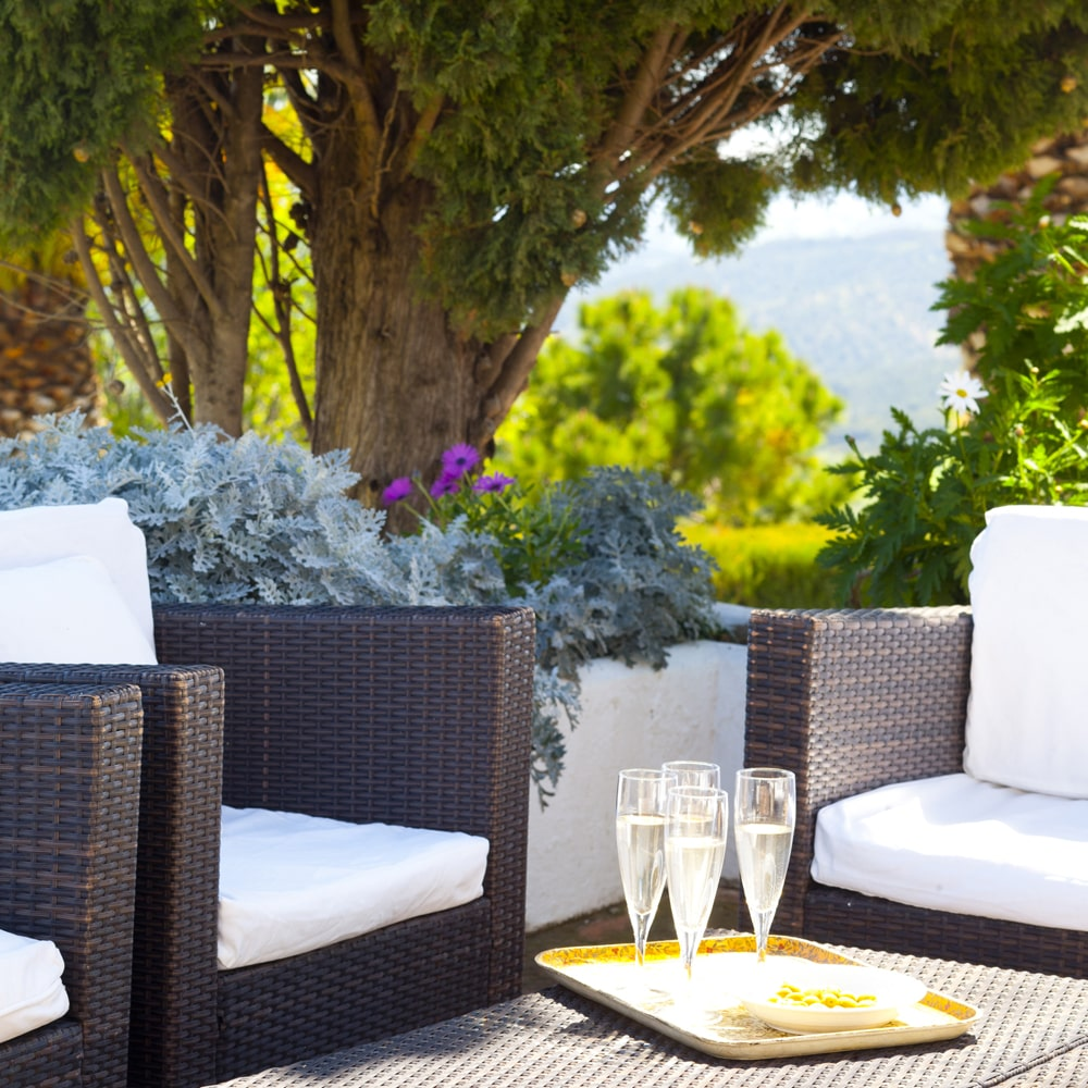 terrace holiday villa spain