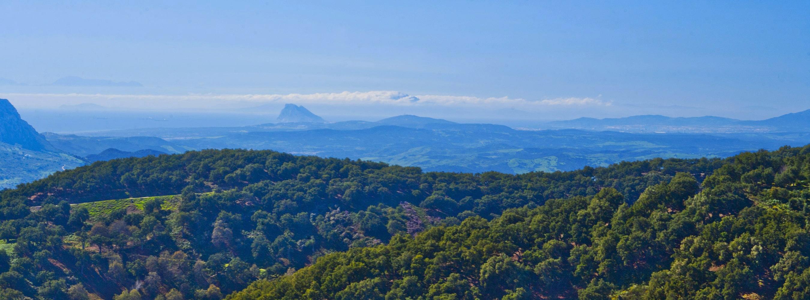 view to africa from gaucin villa