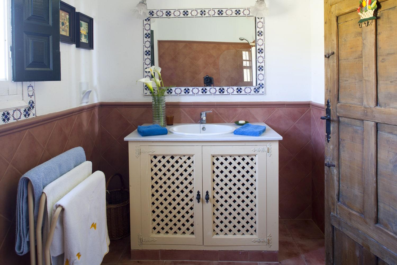 bathroom rental property