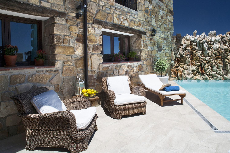 pool and terrace gaucin