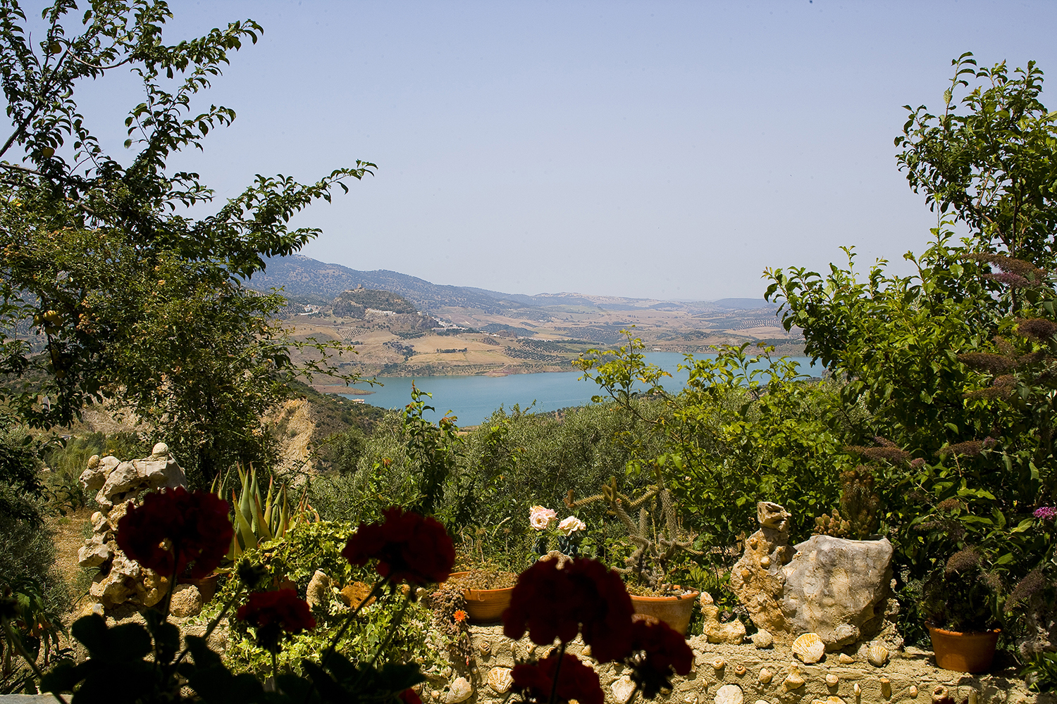 view of lake andalucia