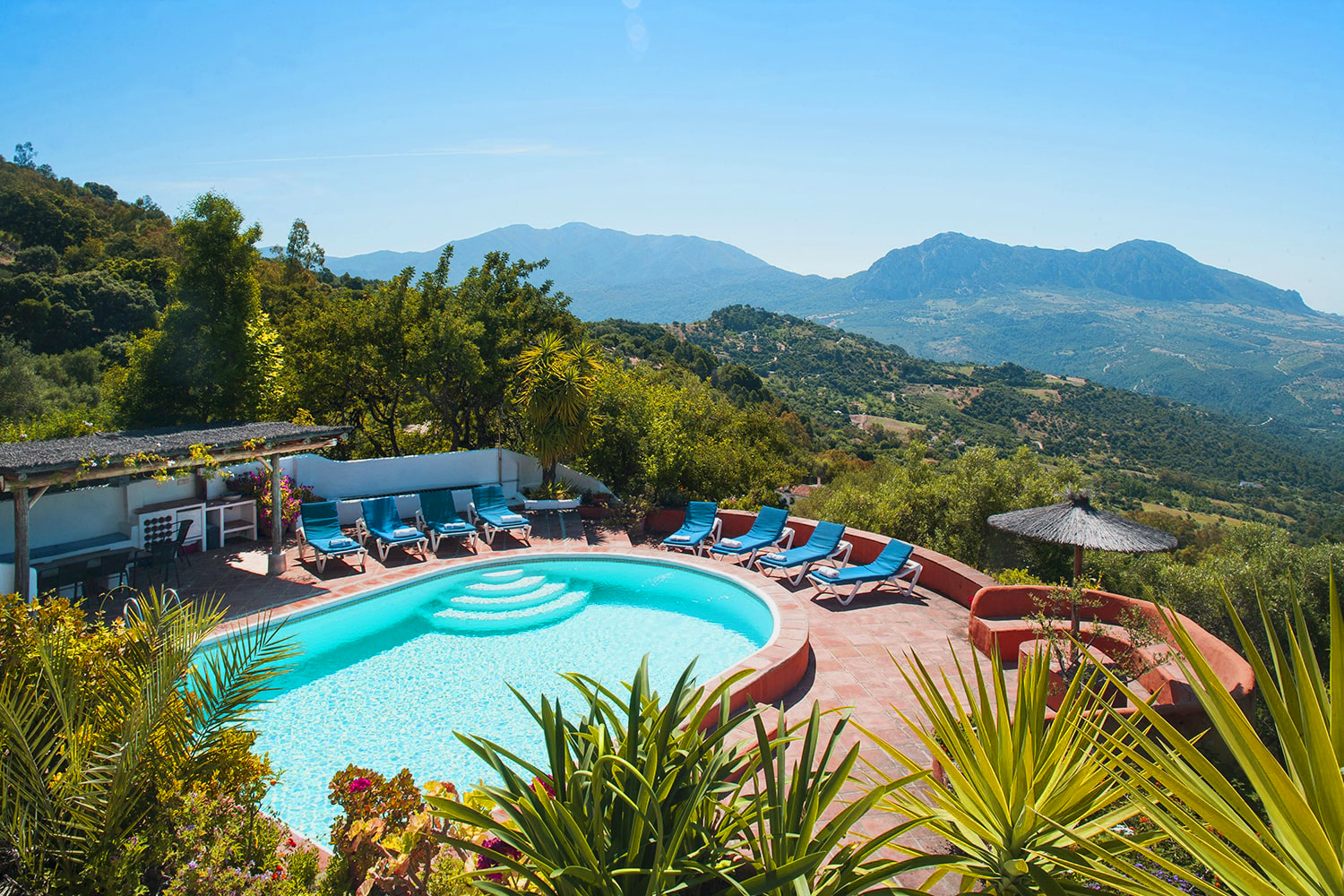 villa in andalucia with private pool