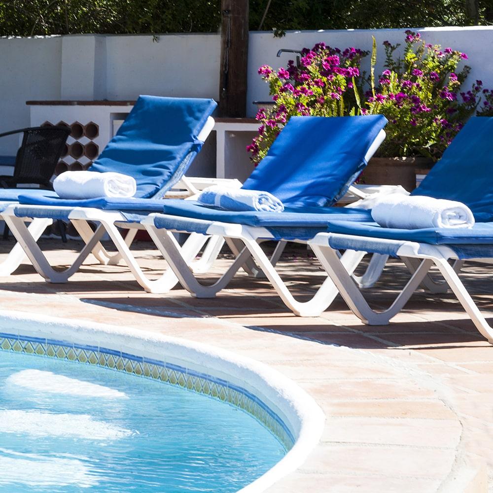 gaucin villa with pool
