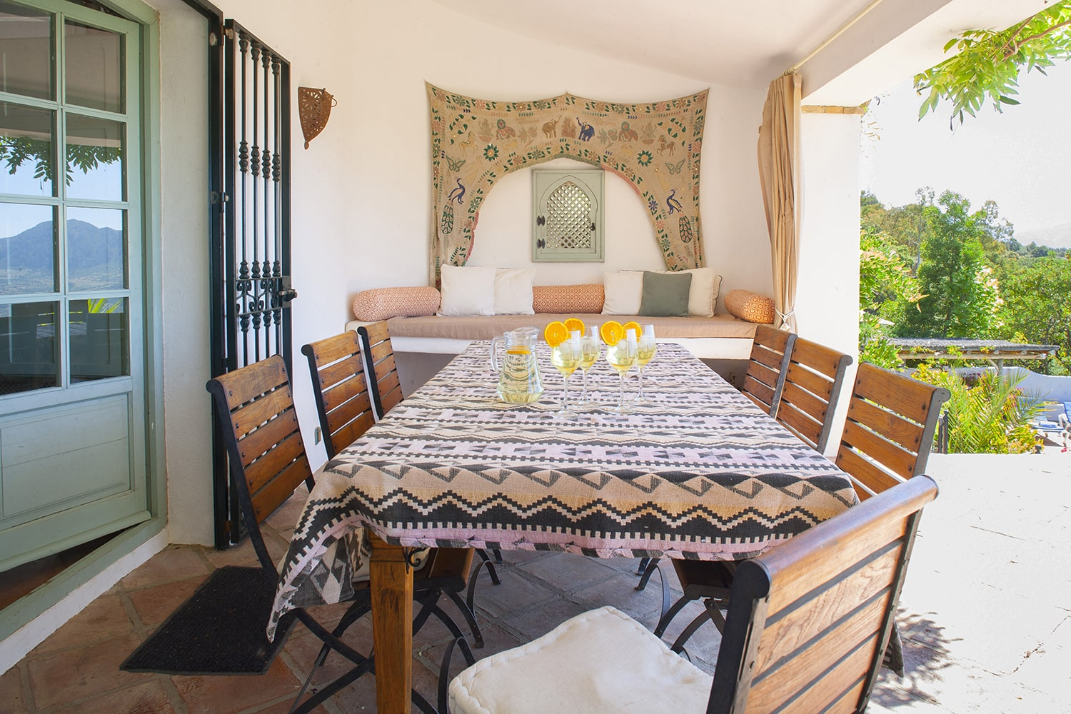 dining out in andalucia