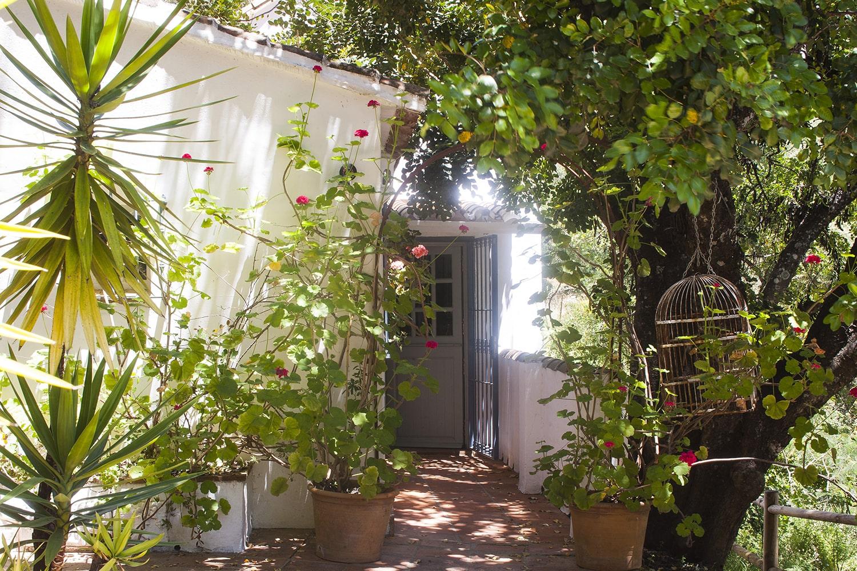 garden casita villa gaucin