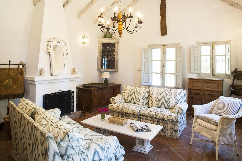 sitting room villa gaucin