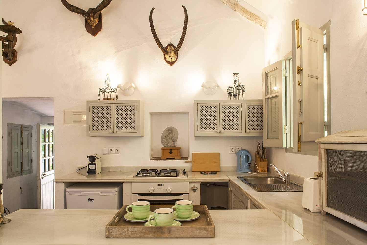 kitchen villa andalucia