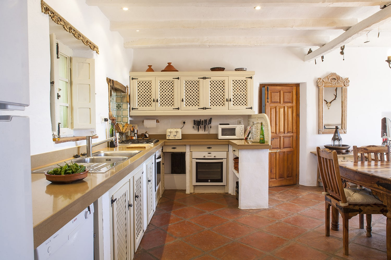 kitchen villa gaucin