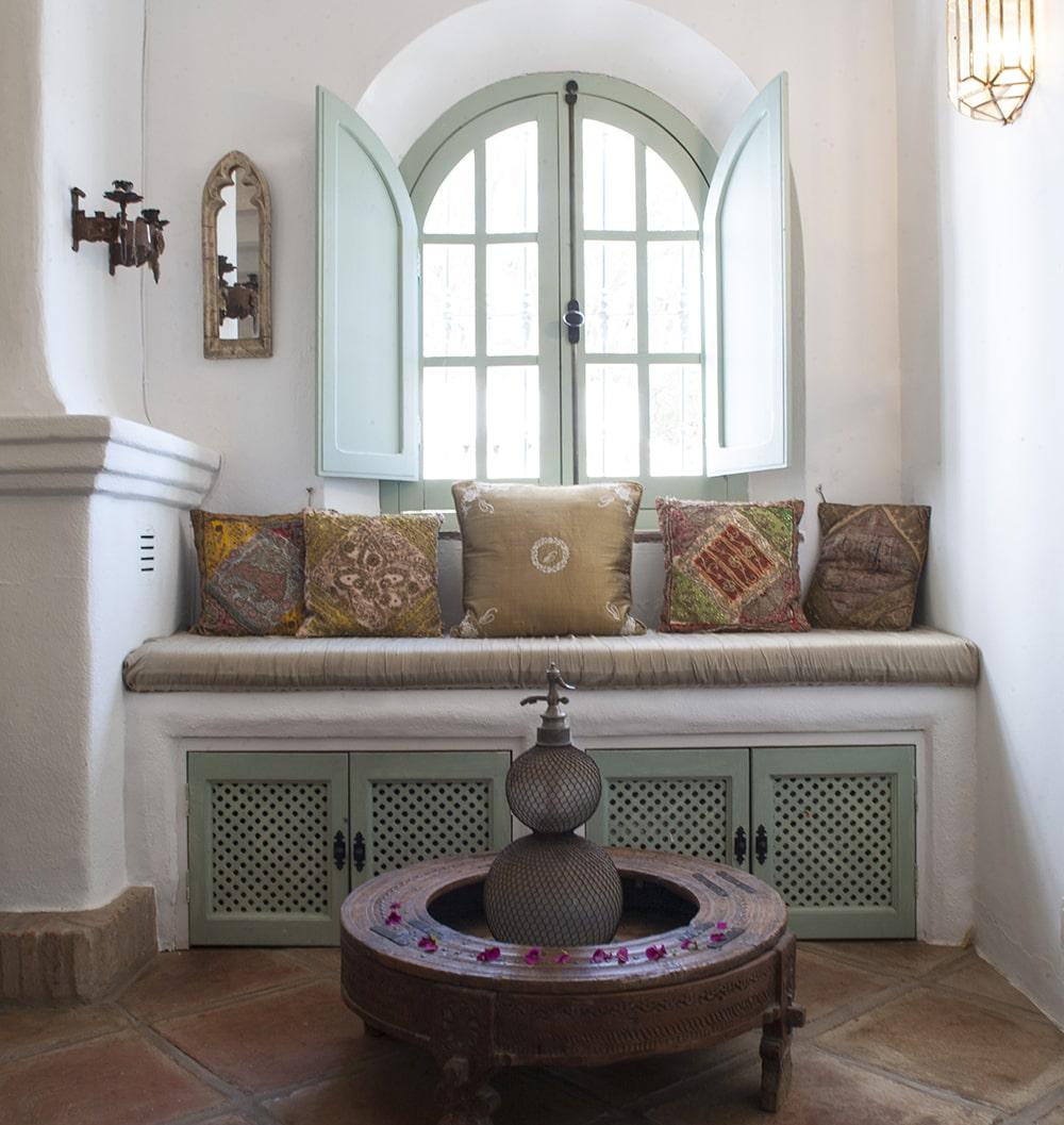 detail sitting room villa gaucin