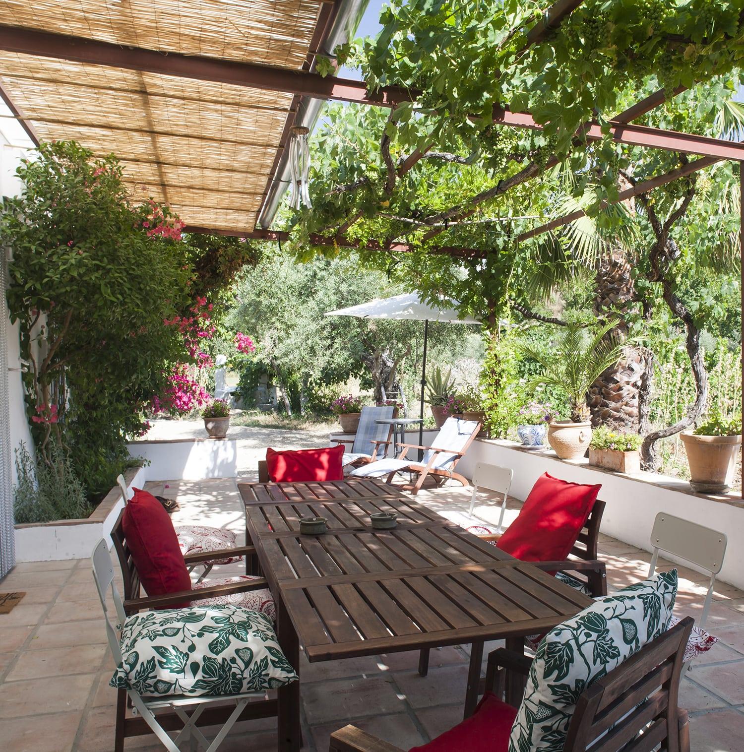 terrace villa andalucia