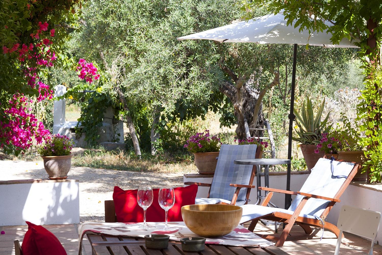 terrace rental villa andalucia