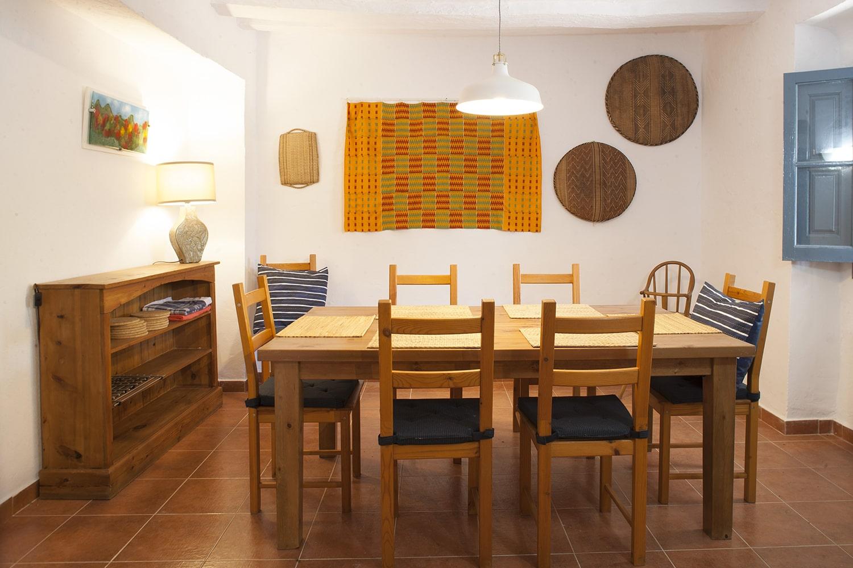 dining room villa andalucia