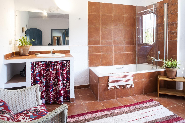 master bathroom holiday villa spain