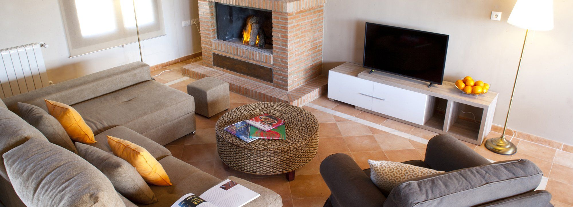 sitting room villa ronda