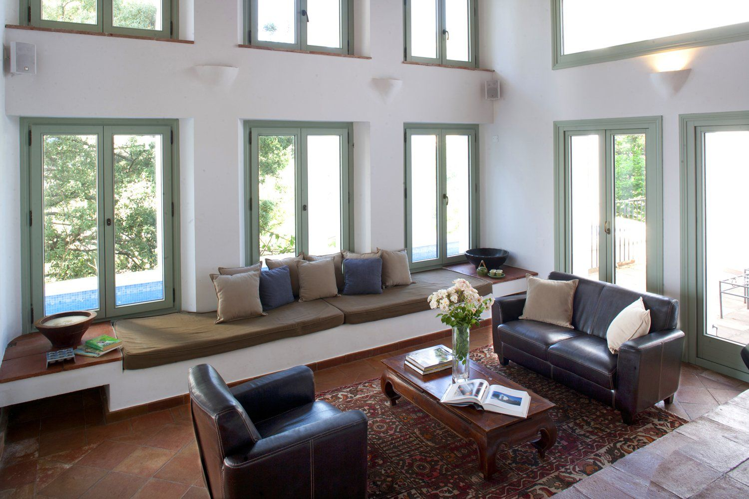 double height sitting room