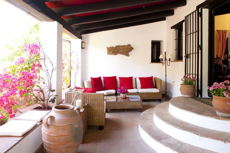 shady terrace