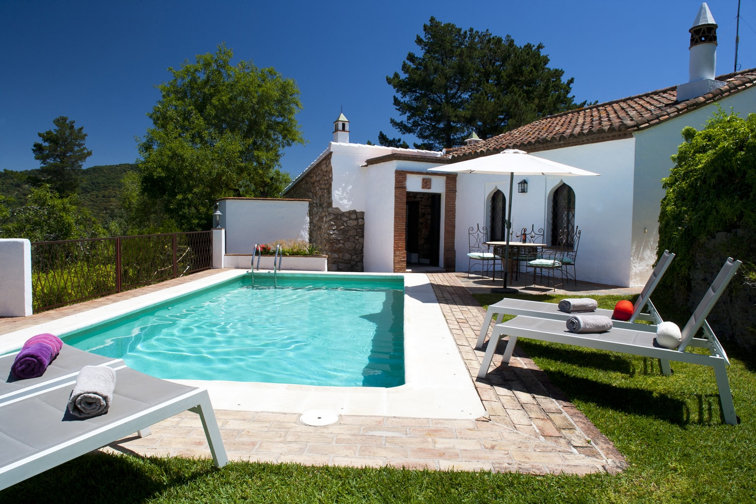 gaucin holiday villa pool