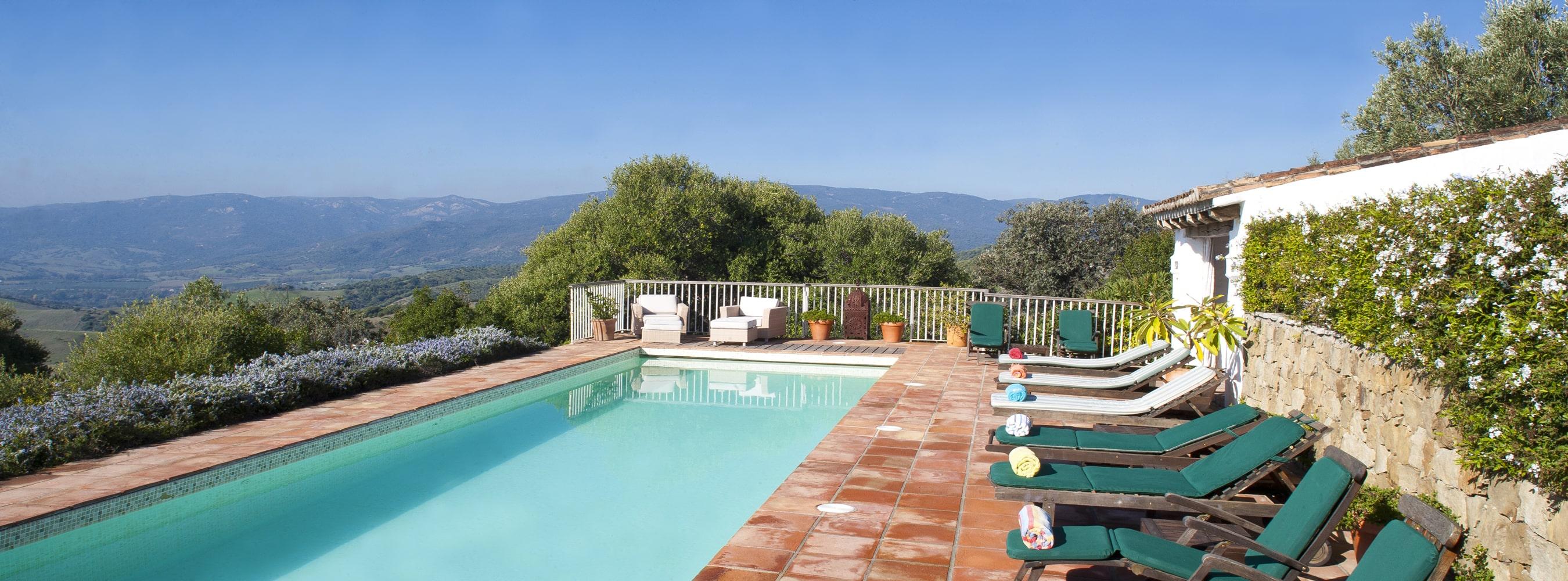 pool and view gaucin