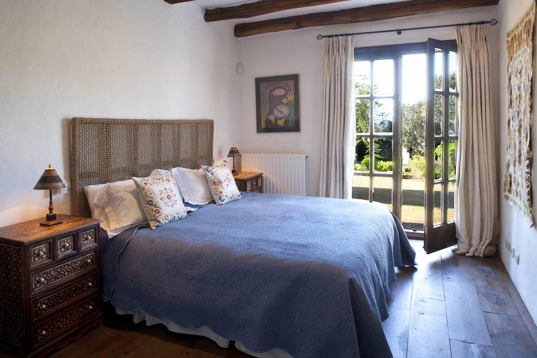 bedroom in villin in spain