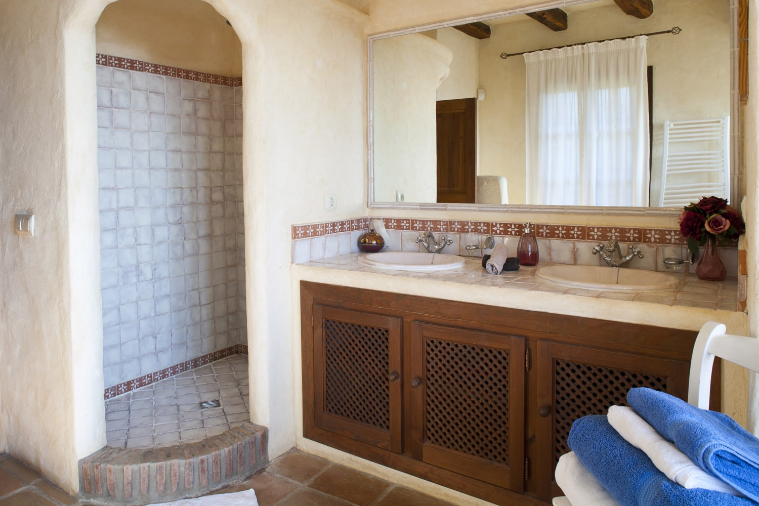bathroom in spanish villa