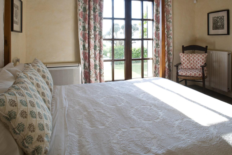 bedroom in villa in spain