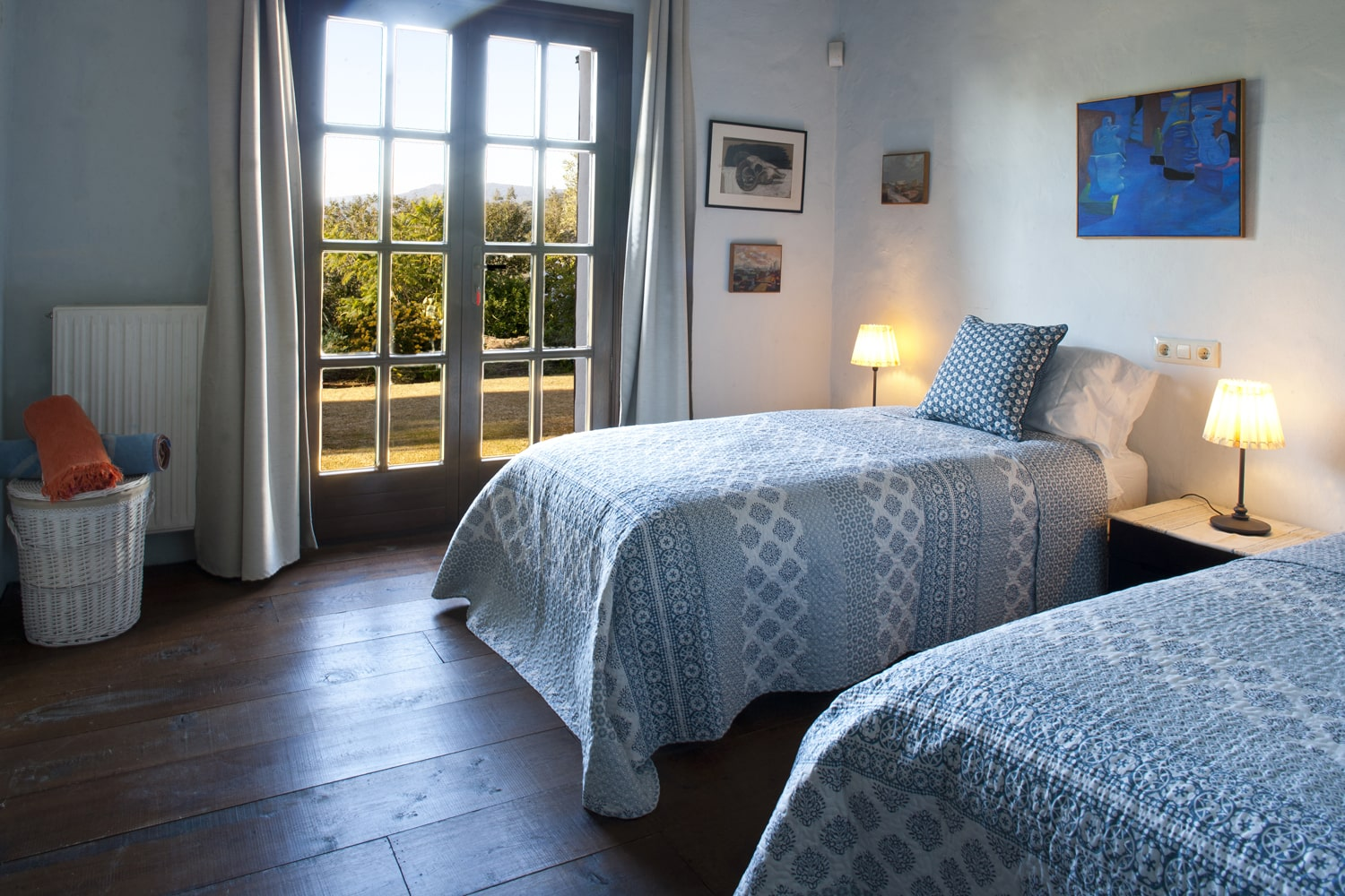 twin bedroom in andalucia