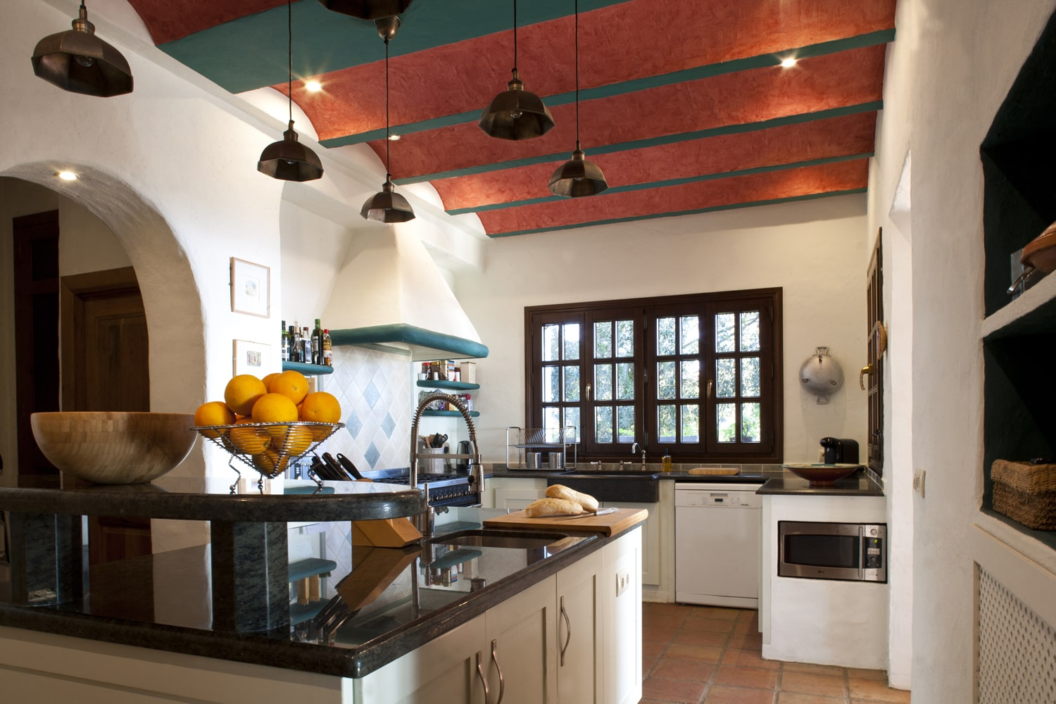 kitchen villa in spain