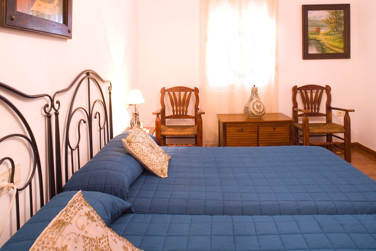 bedroom two in ronda andalucia