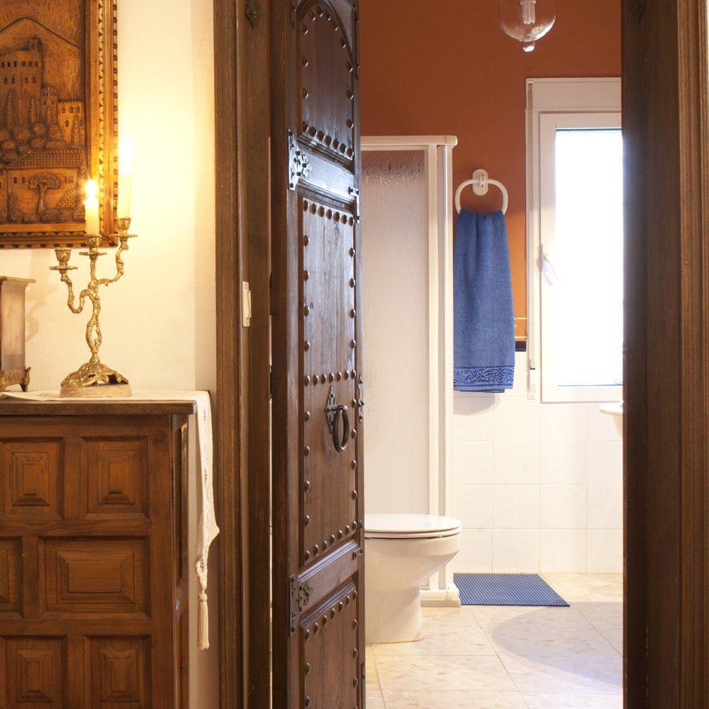 bathroom in holiday villa andalucia