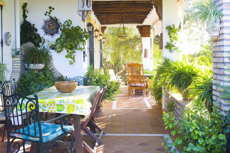 shady terrace villa andalucia